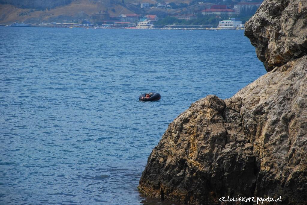 Marcin niczym wilk morski wypłynął ze swoim kołem w morze