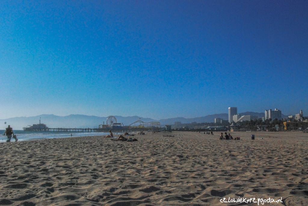 plaża na Santa Monica