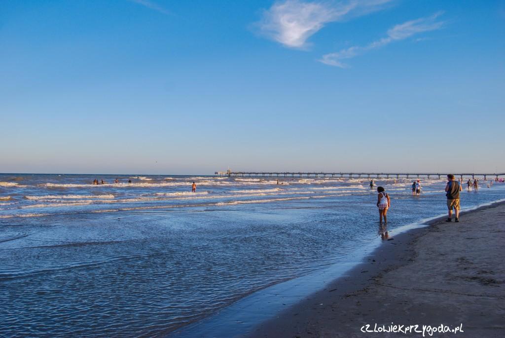 Zatoka Meksykańska - Mustang Beach