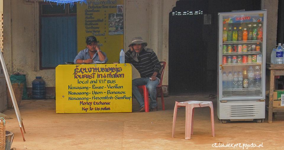 O przejściu granicznym w Kambodży