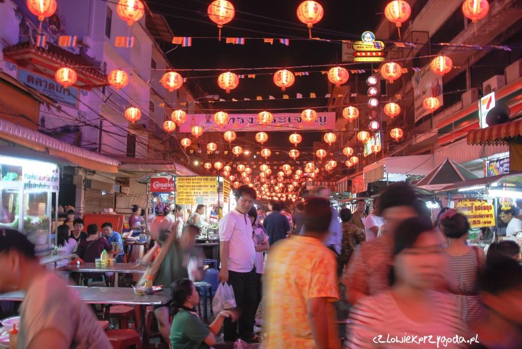 China Town w Bangkoku.