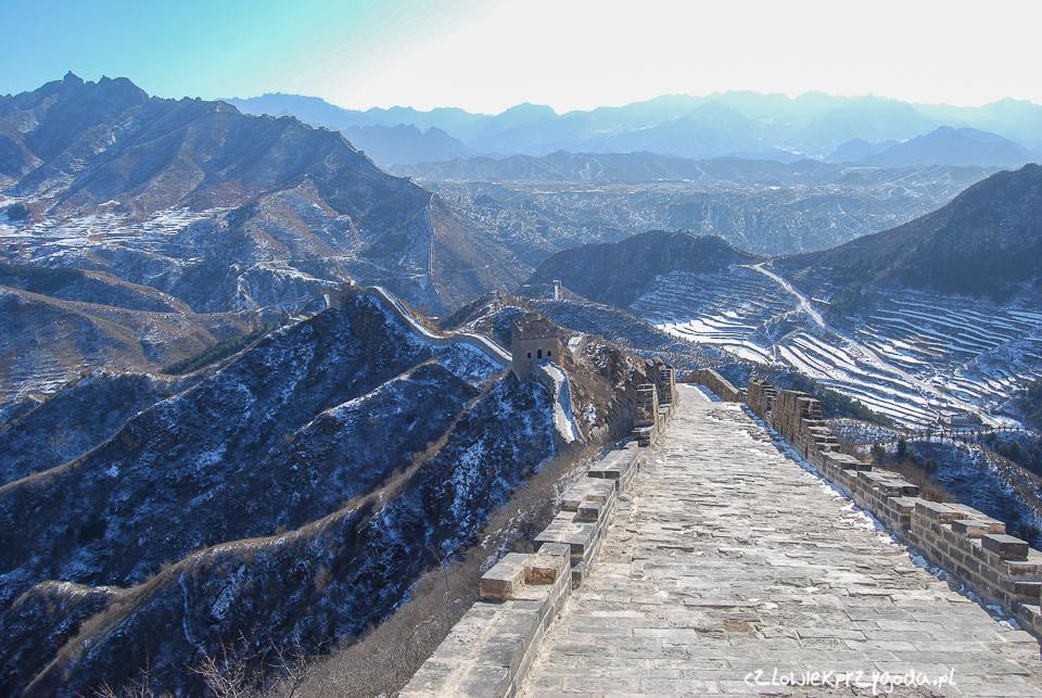 Mur chinski zima