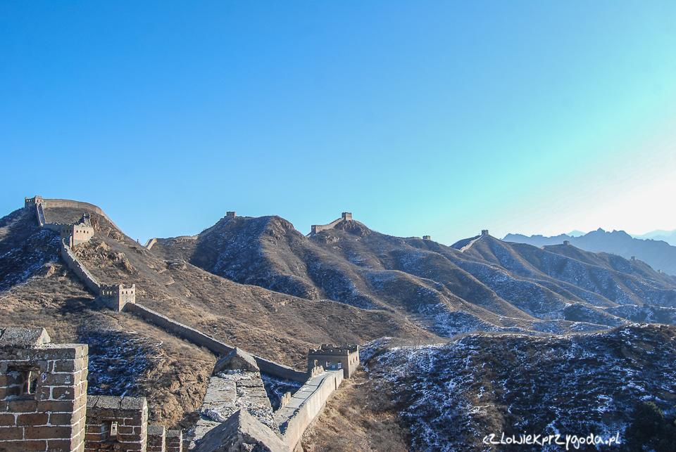 Trasa do Jinshaling.