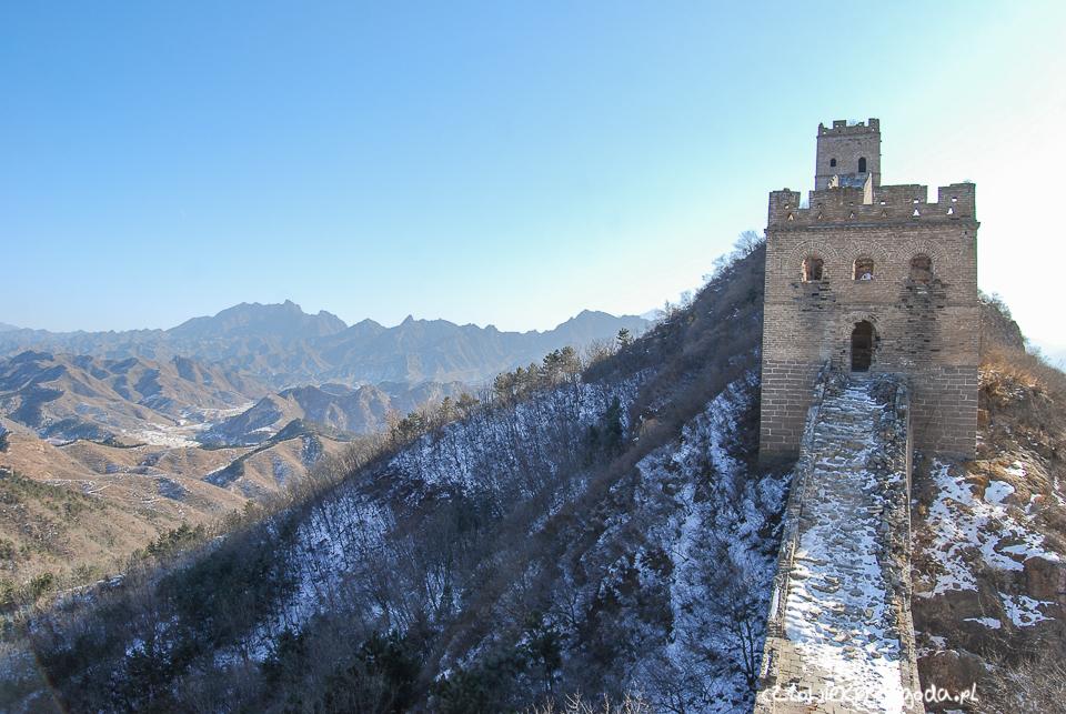 zwiedzanie muru chińskiego