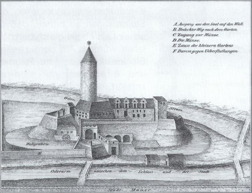 Widok za czasów panowania Jana Kazimierza 1654 r. litografia Idzikowski F.