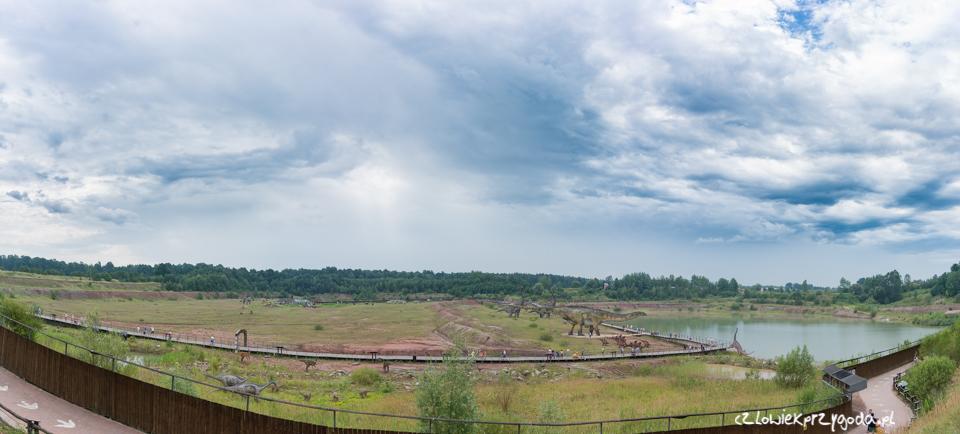 Panorama na jurapark