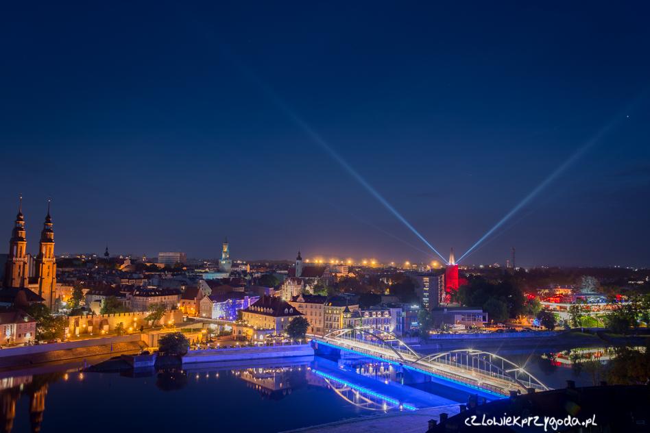 Widok na odbywający się Festiwal Polskiej Piosenki