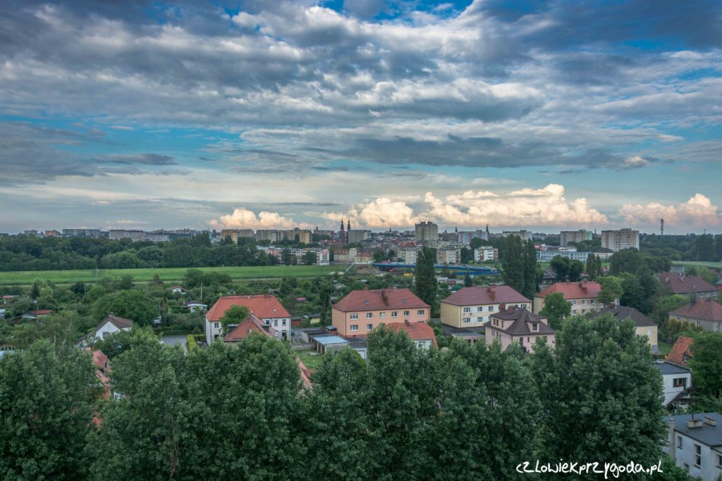 Niebo nad Opolem
