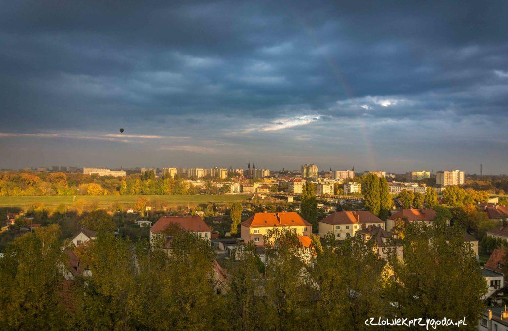 Balon nad Opolem