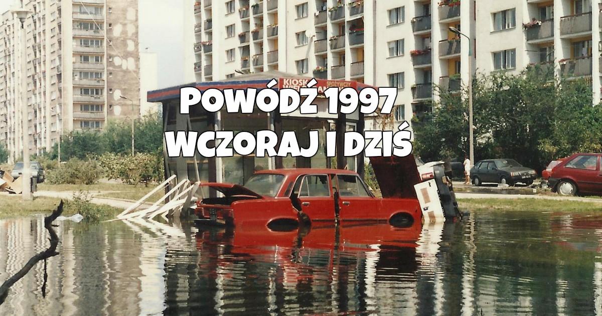 Powódź w Opolu. Wczoraj i Dziś