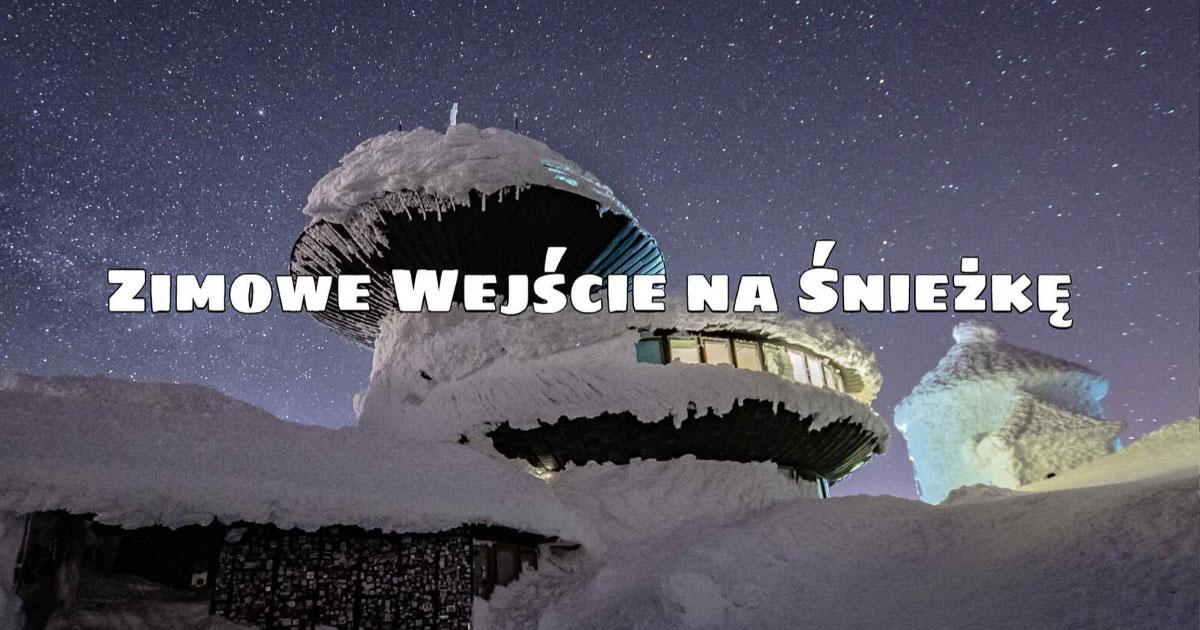 Zimowe wejście na Śnieżkę