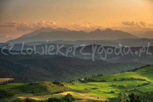 Pieniny - zachód na Tatry