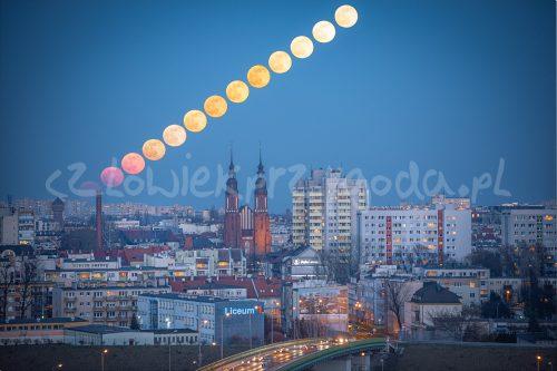 Wędrówka Księżyca