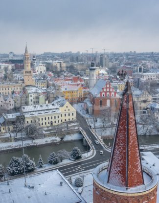 Opole zimą