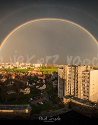 Tęcza nad Opolem