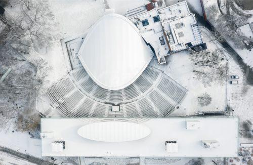 Amfiteatr zimą